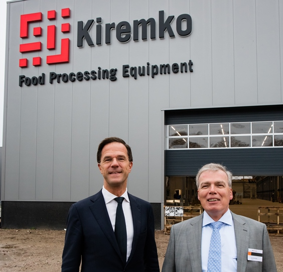 Dutch Prime Minister Mark Rutte visits Kiremko